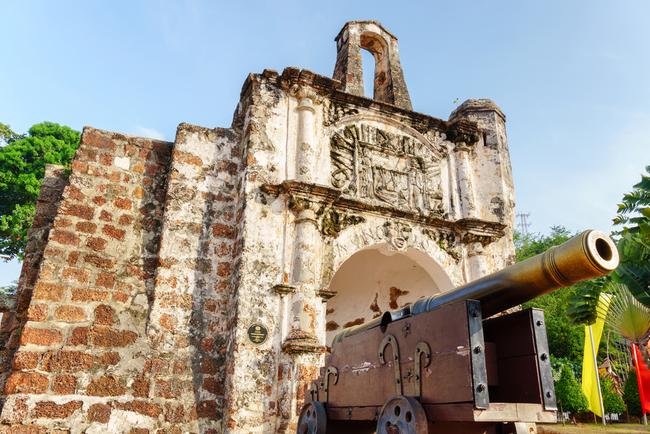 Historic Portuguese fortress in Malacca | © MajestiX B/Shutterstock