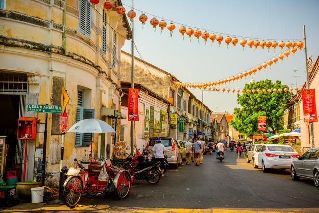The streets of Georgetown, Penang | © Nitsawan Katerattanakul/Shutterstock