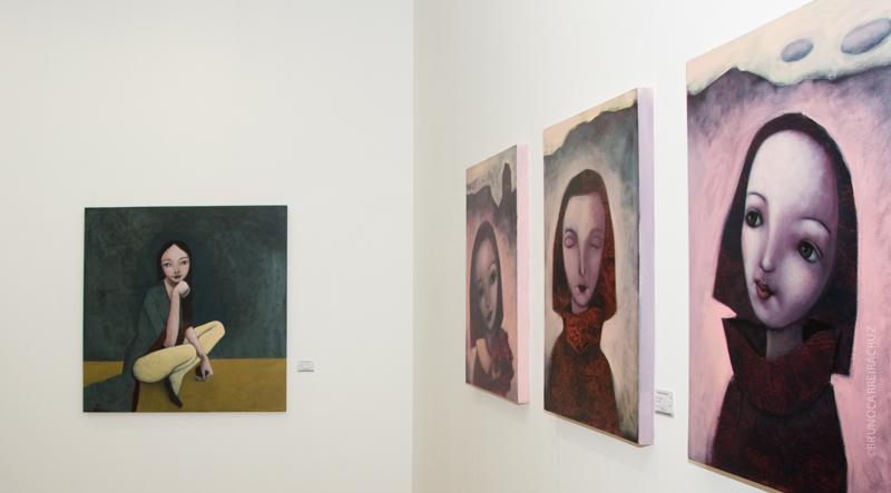 Reportagem Evelina Oliveira - Exposição de Pintura, Galeria de Arte São Mamede | © Bruno CarreiraCruz/Flickr