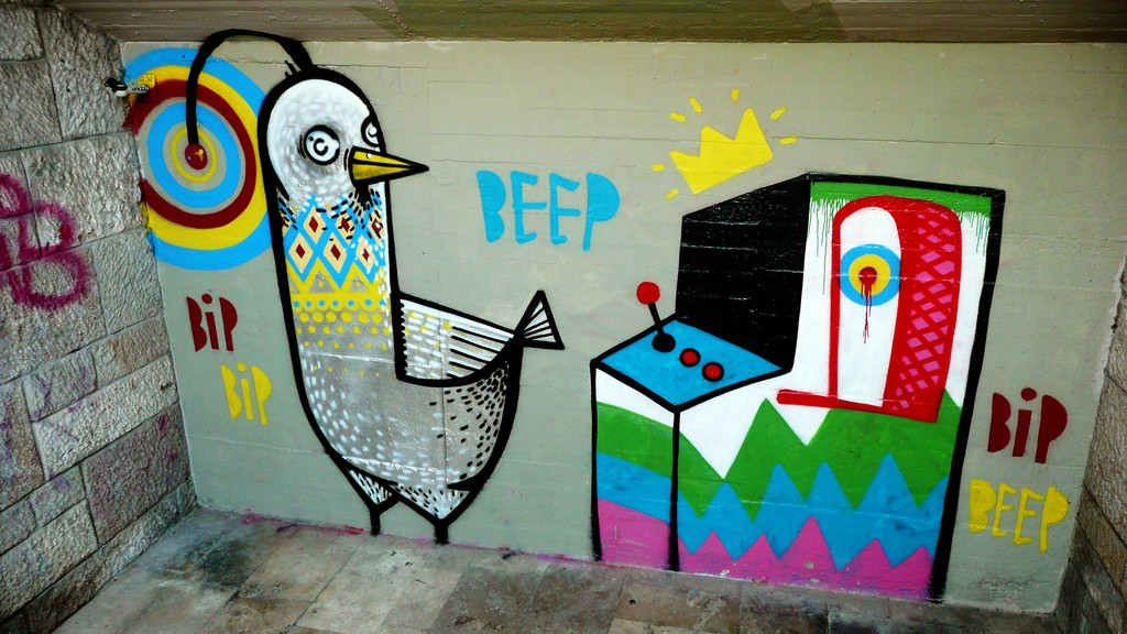 Street Art, Budapest | ©Andy Li/Flickr