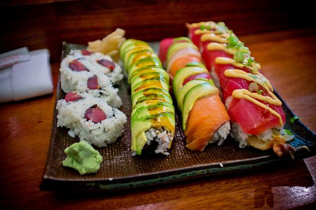 Assortment of Sushi |© Sean Davis / Flickr