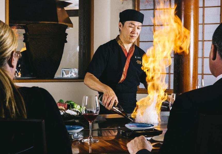 Chef at Shiki | © Courtesy of Shiki