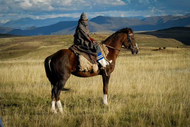 Filming The Forgotten Kingdom in Lesotho | © Meri Hyöky Photography.