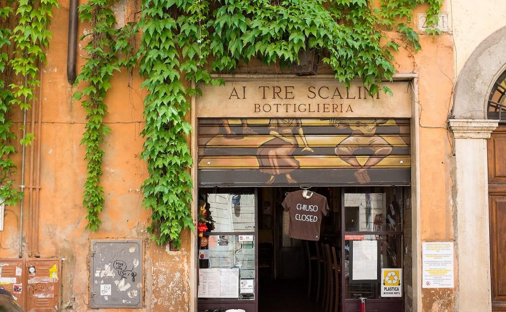 Ai Tre Scalini, Roma | ©Alexander Russy/Flickr