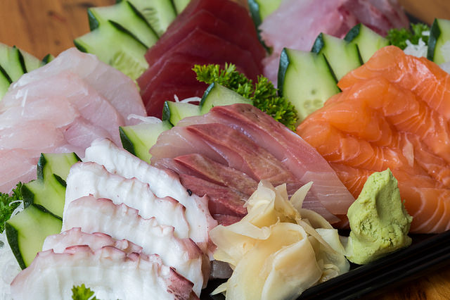Fresh Sashimi| ©Gustavo Fumero/Flickr