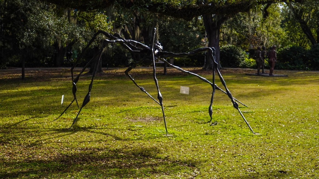 Louise Bourgeois, Spider at New Orleans Sculpture Park | ©Shelly Prevost/Flickr