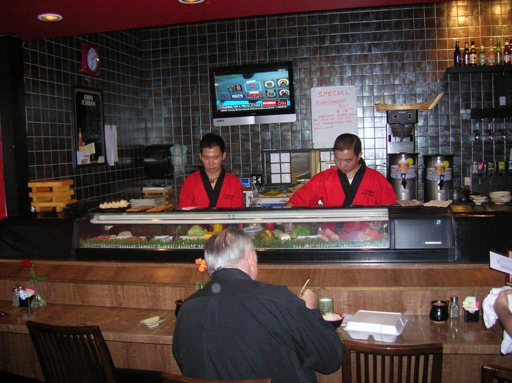 Sushi Bar ©Dana Franks