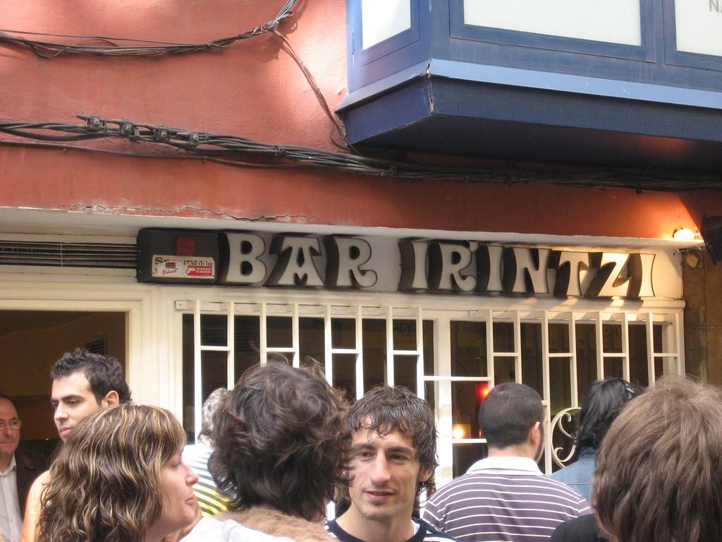 Bar Irrintzi © Boca Dorada