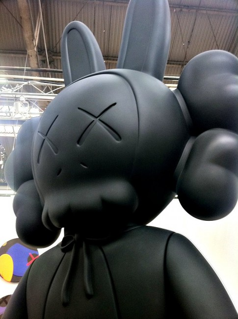 KAWS Is Dead, The Armory Show, New York |© Allison Meier