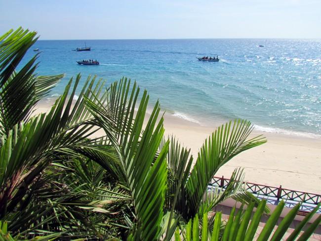View from Zanzibar Serena Inn| ©David Berkowitz/Flikr