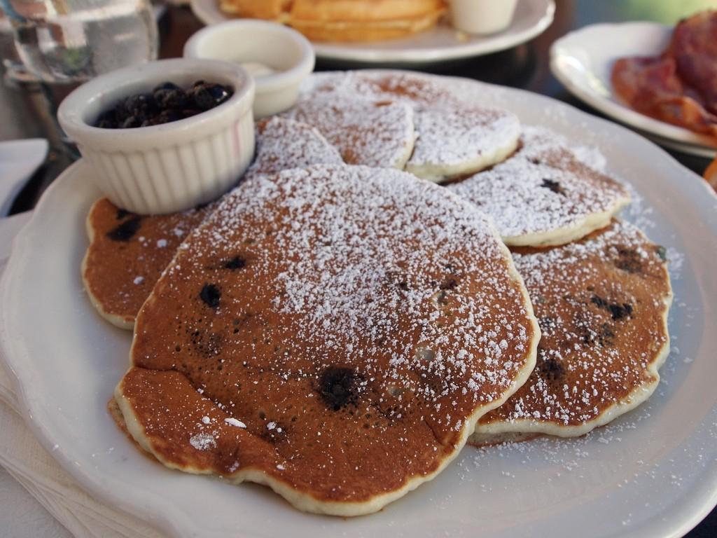 Blueberry Pancakes ©Jaysin Trevino