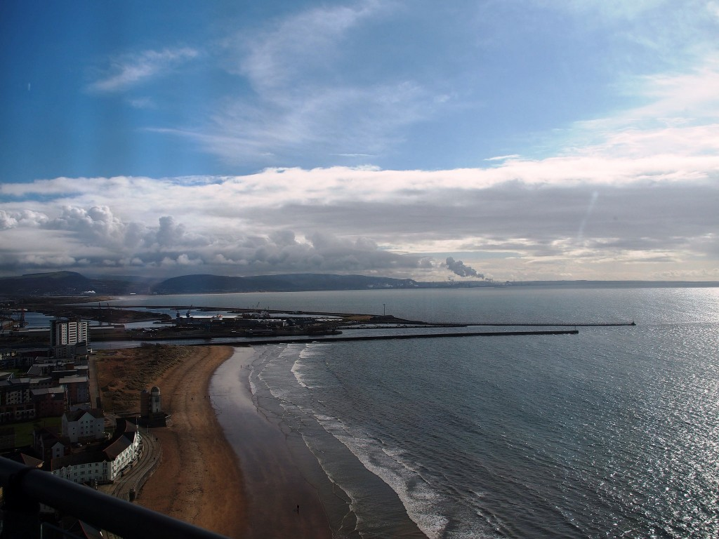 View of Swansea from the Meridian Tower | ©Gareth Lovering Photography/Flickr