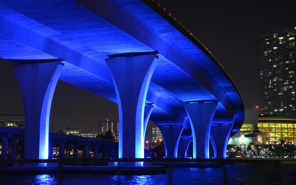 Dodge Island Bridge - Miami ©A. Duarte