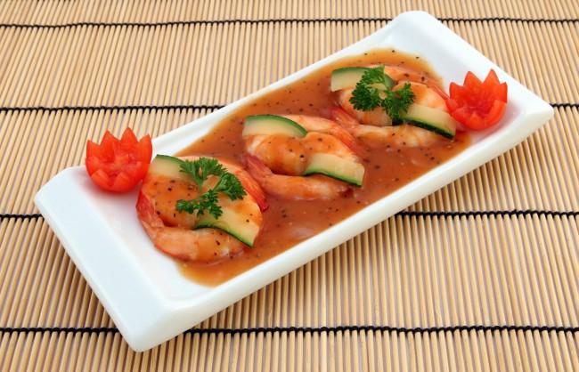 Delicious prawns/ ©Pixabay