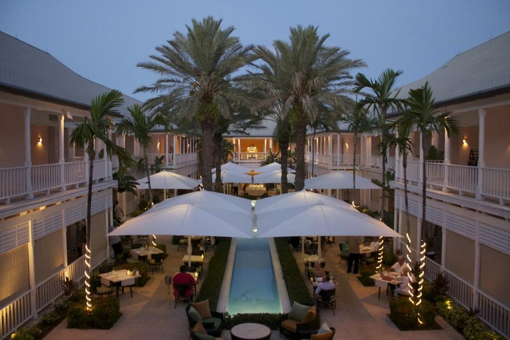 Courtyard Terrace, Nassau, Bahamas © oneandonlyresort.com