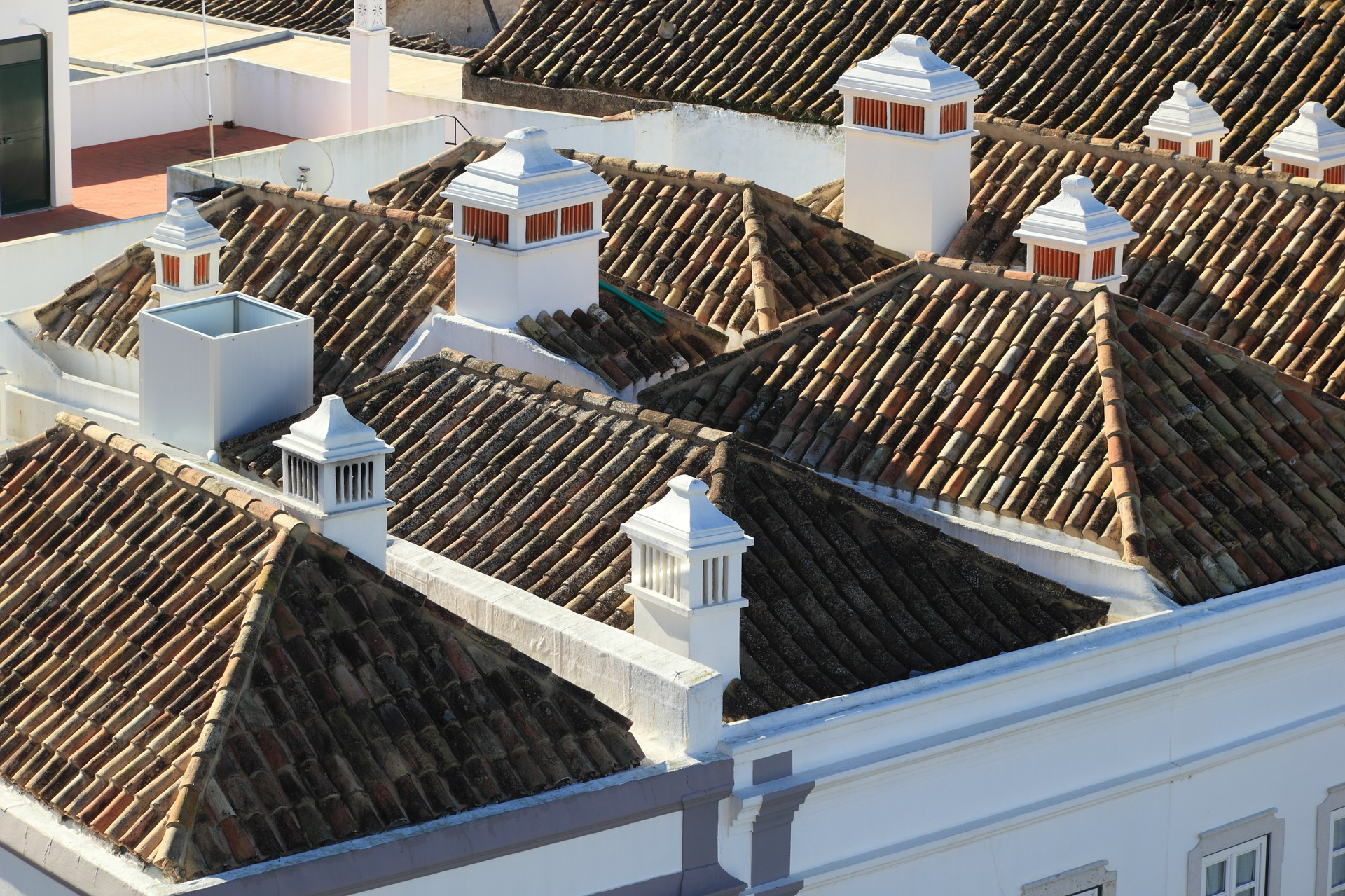 Rooftops in Faro | © olafpictures / pixabay