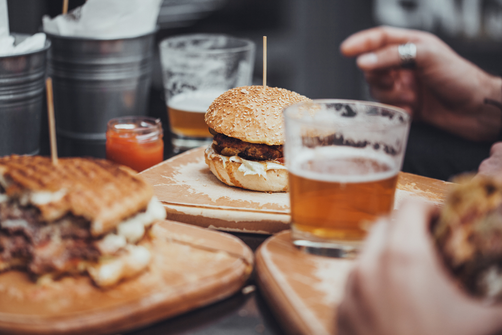 Burger & Beer at The Vintage | © NatashaPhoto/Shutterstock