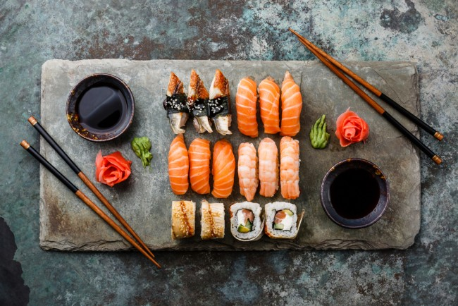 Sushi © Lisovskaya Natalia / Shutterstock