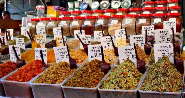 Tel Aviv Spice Markets © Evan Bench