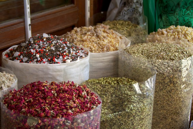 Spices at Souk Markets © McKay Savage