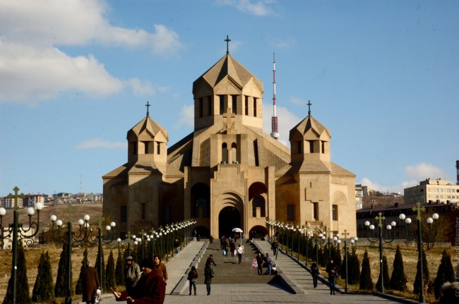St. Gregory Cathedral, Yerevan | ©Hombit/Flickr