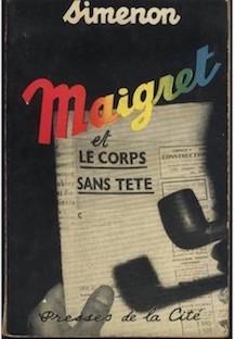 Maigret et le Corps sans Tete | © Presses de la Cité