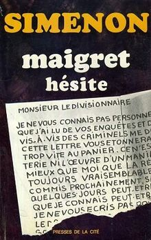 Maigret Hésite | © Presses de la Cité