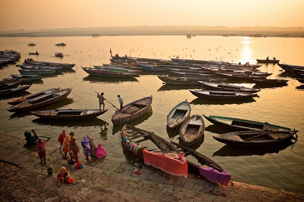 Ganges, Varanasi   ©Andrea Santoni/Flickr