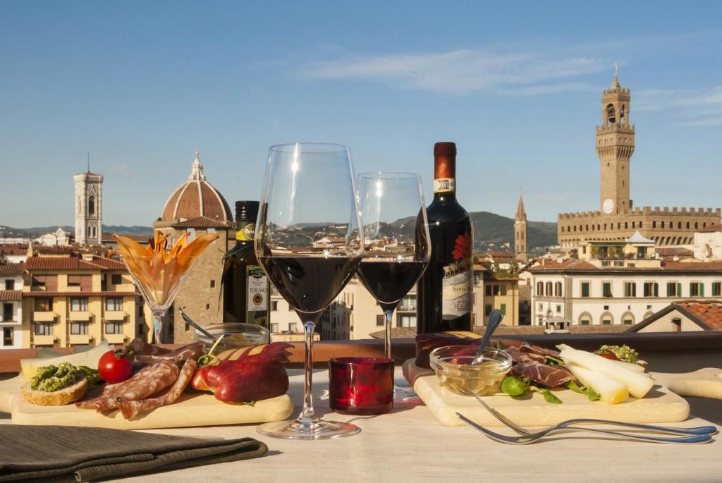 Hotel Pitti Palace al Ponte Vecchio ©www.florencehotelpittipalacealpontevecchio.com