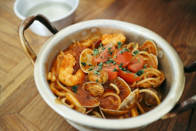 Seafood Pasta | ©Pixabay