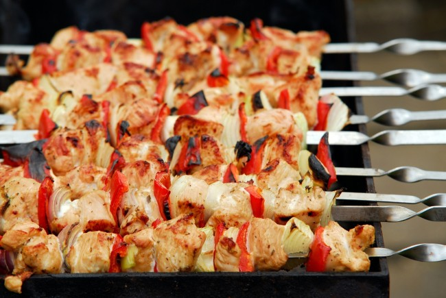 Chicken Kebabs | ©Pixabay