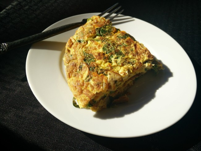 Spinach Omelette/ ©Pixabay