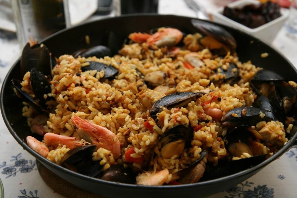 Seafood Paella | ©Pixabay