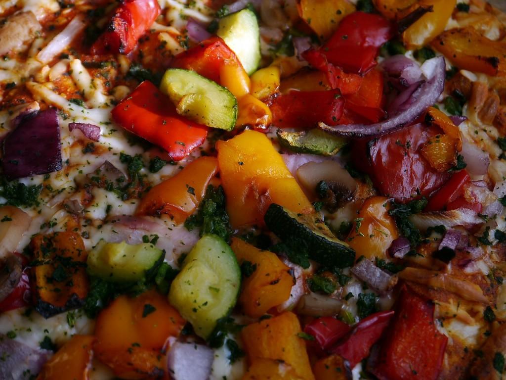 Vegetarian Pizza   ©Pixabay