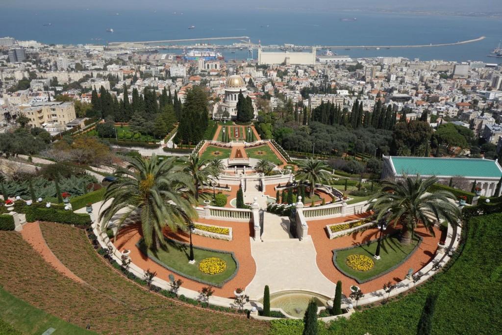 Bahai Gardens in Haifa, Israel | © Evgenii Klebanov / Flickr