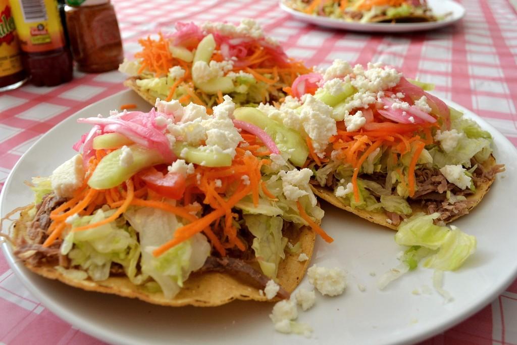 Mexican tostadas ©David Boté Estrada