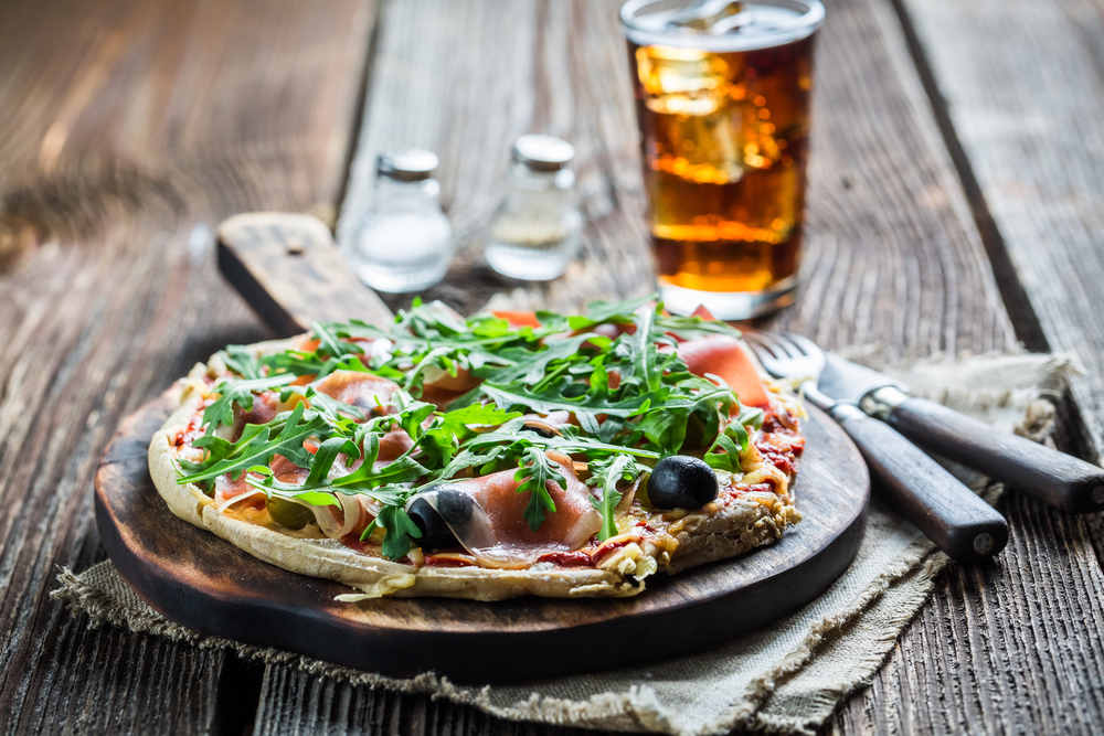 Farringford Garden Restaurant Where Dozens Of Homemade Pizzas Vie With Traditional British Fare For Diners