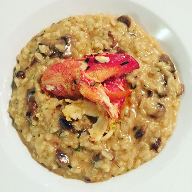 Lobster Risotto © Sarah Stierch