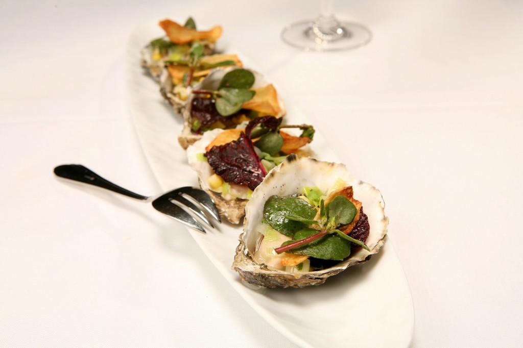 Roasted Oysters ©Kurman Communications, Inc.