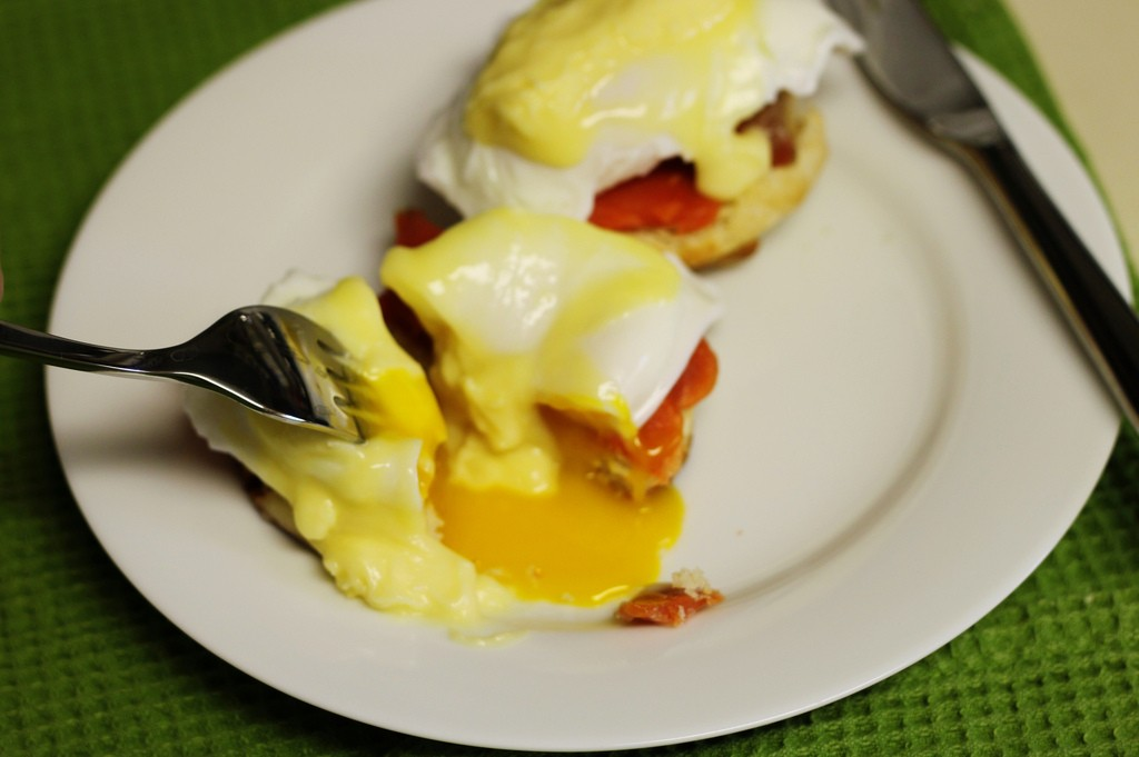 smoked salmon eggs benedict ©Stacy
