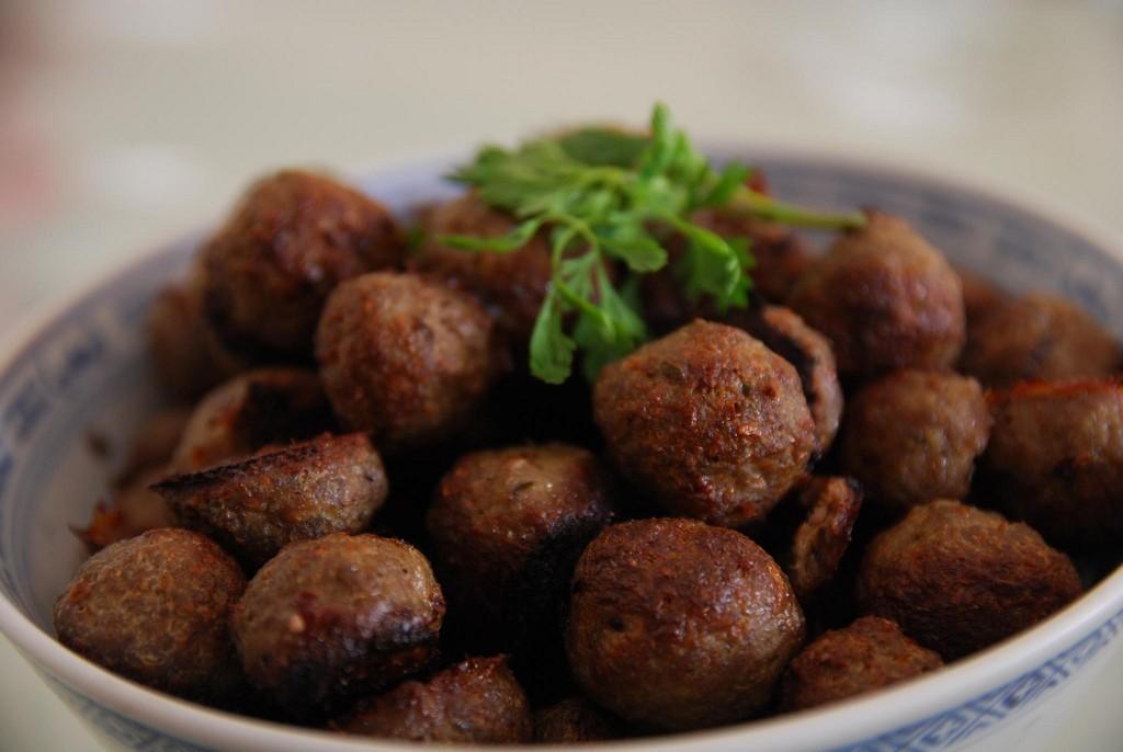 Baked Lamb Meatballs ©Alpha