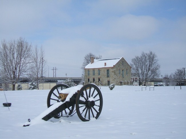 Parade Ground In Snow | © forsmpithnps / Flickr