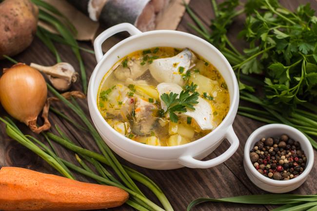 Portuguese Fish soup   © Mahara/Shutterstock