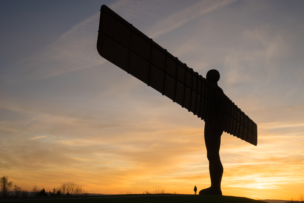 The Angel of the North, Gateshead. A steel sculpture by Antony Gormley © DavidGraham86 / Shutterstock