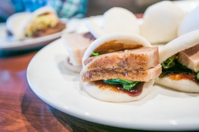 Steamed Buns - Pork Belly, hoisin, cucumbers, scallions | © City Foodsters/Flickr