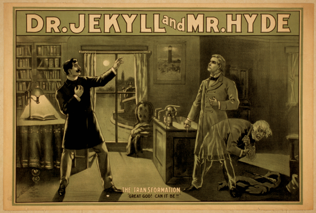 Dr Jekyll and Mr Hyde | © Chicago : National Prtg. & Engr. Co./WikiCommons