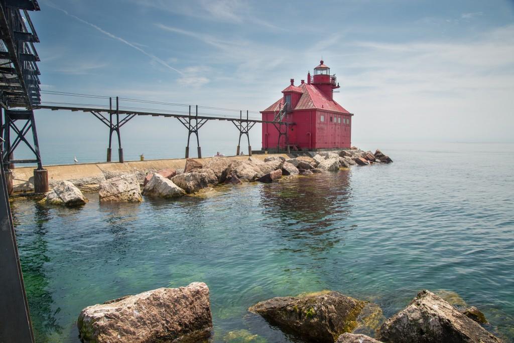 Lighthouse, Door County | ©Jim Bauer/Flickr