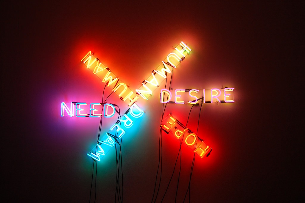 Example of Bruce Nauman's Work | ©Andrew Russeth/Flickr
