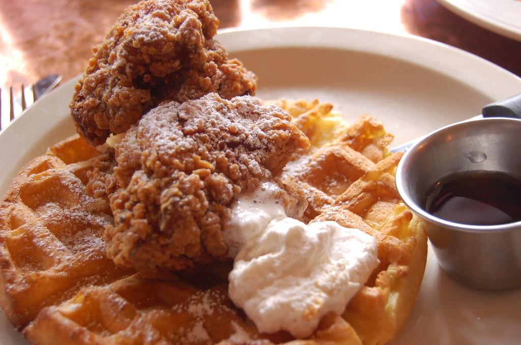 Chicken Waffles ©snowpea&bokchoi