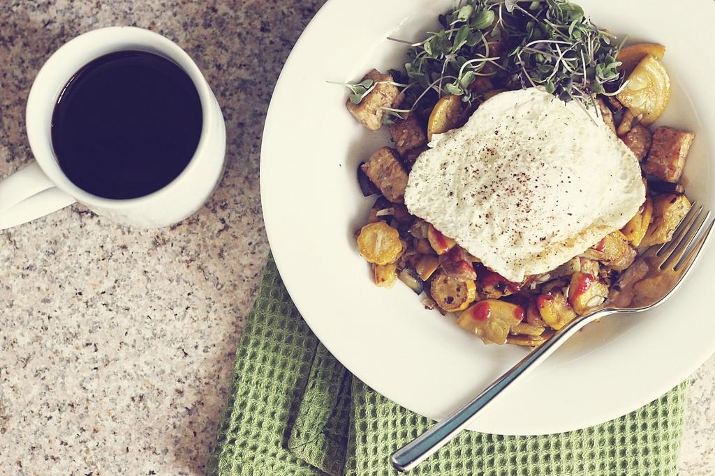 Vegetarian Breakfast © Stacy